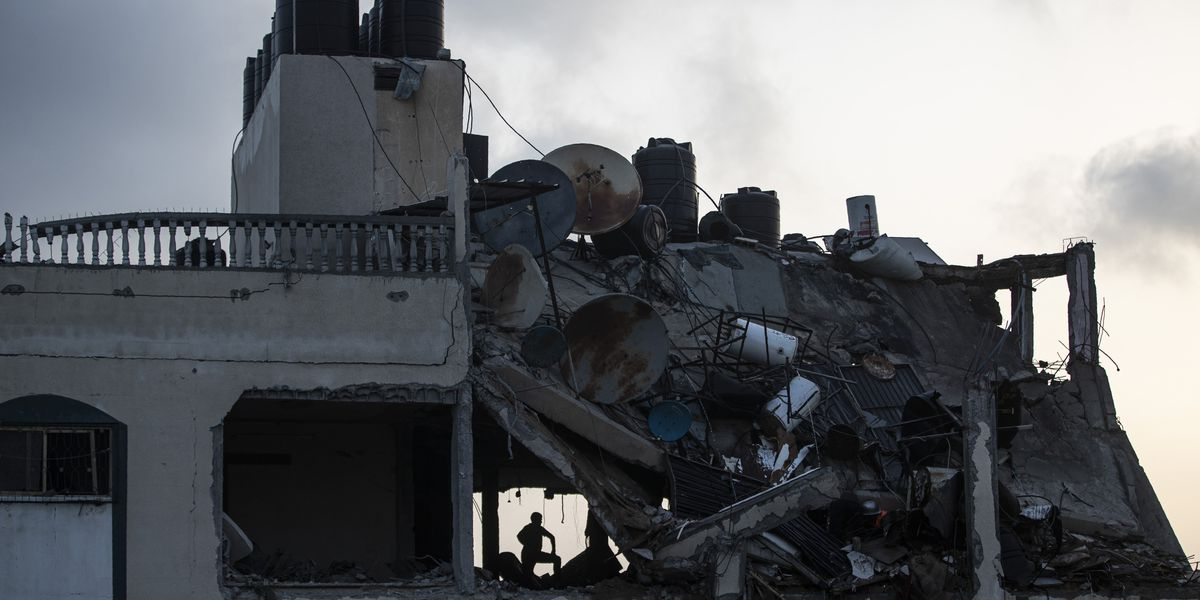 Gaza militants, children among 24 dead as Israel hits Hamas