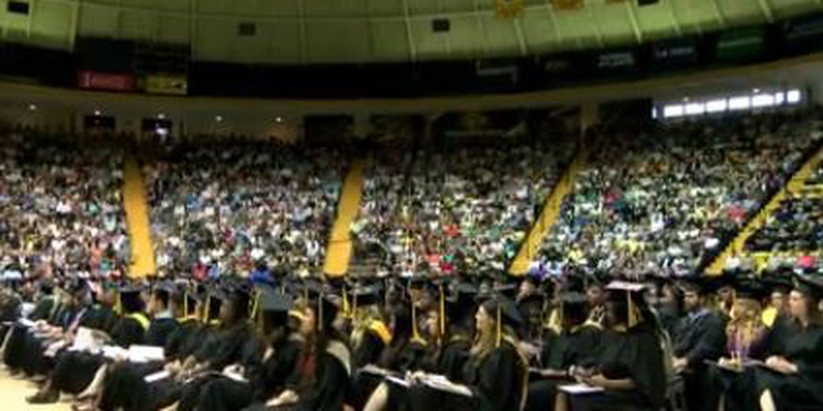 Southern Mississippi awarding degrees to nearly 1,800