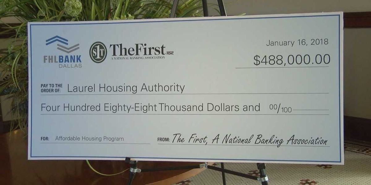 Laurel Housing Authority receives major grant