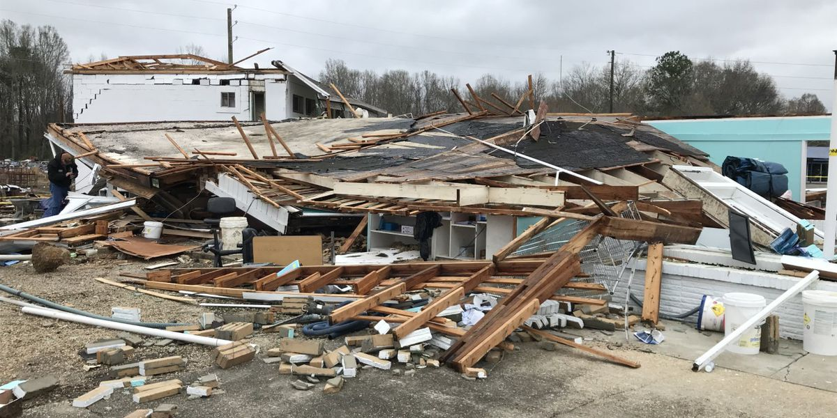 NWS confirms 2 tornadoes touched down in Marion County