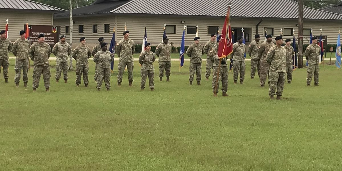 Camp Shelby training unit hosting two change of command ceremonies