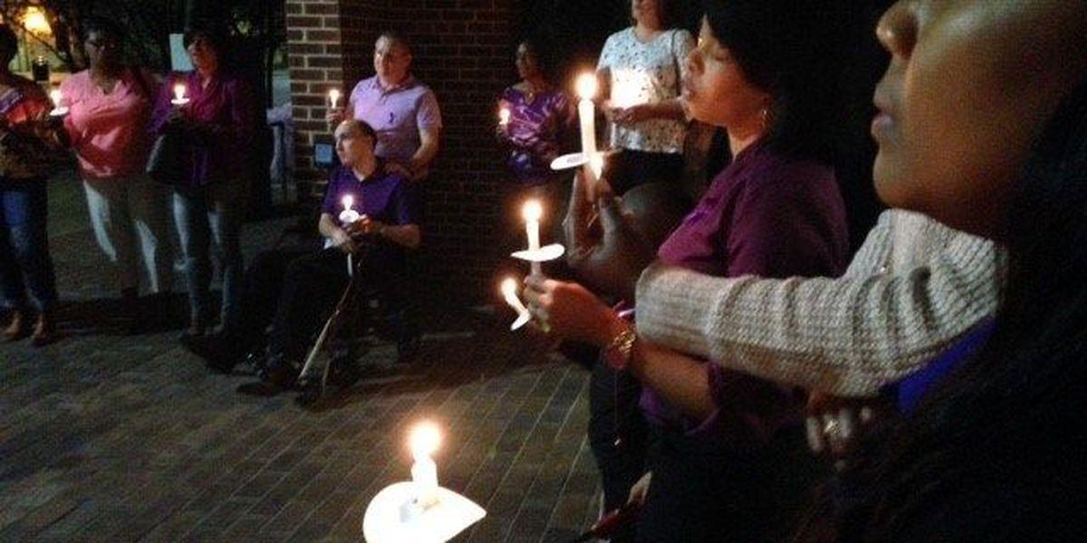 HPD holds vigil for domestic violence