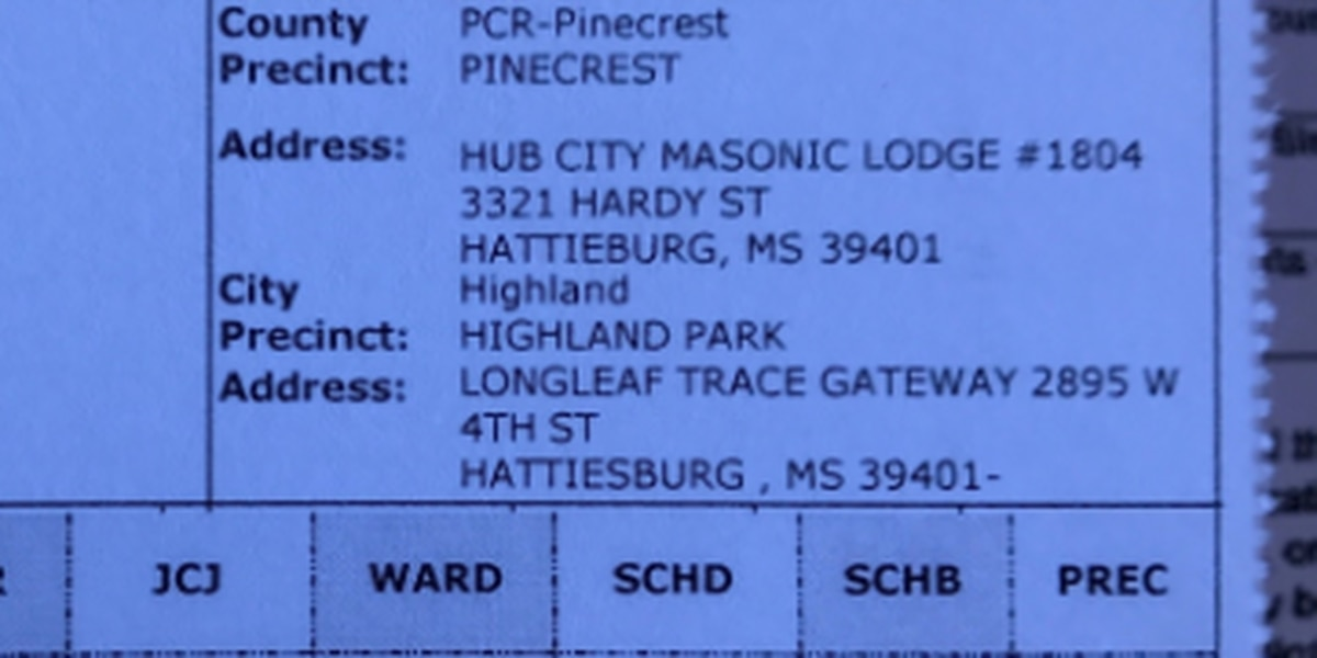 Ward 1 voter card issues in Hub City