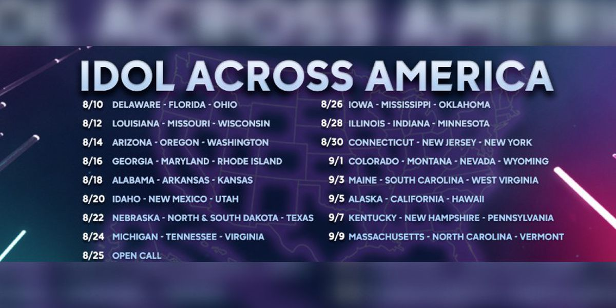 'Idol Across America' holding virtual auditions for Mississippi Aug. 26
