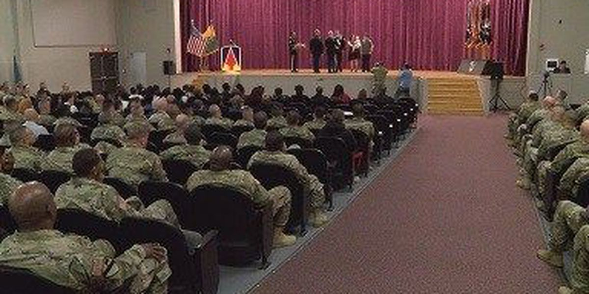 Shelby's 177th hosts 'Celebration of Service' for retiring soldiers