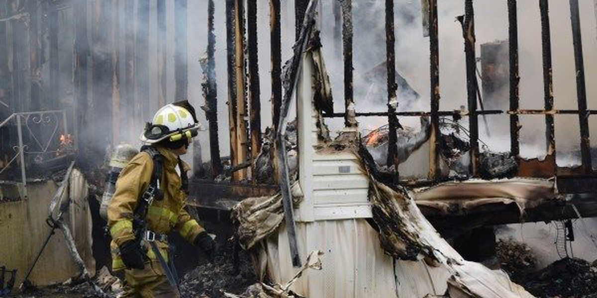 Memorial Day fire leaves family homeless