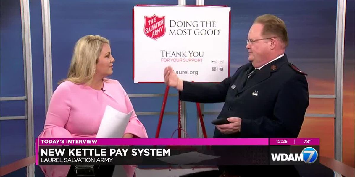 Midday Interview: Salvation Army introduces new kettle pay system