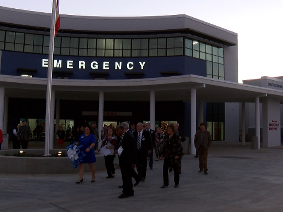 South Central Regional Medical Centers cuts ribbon on new ER facility