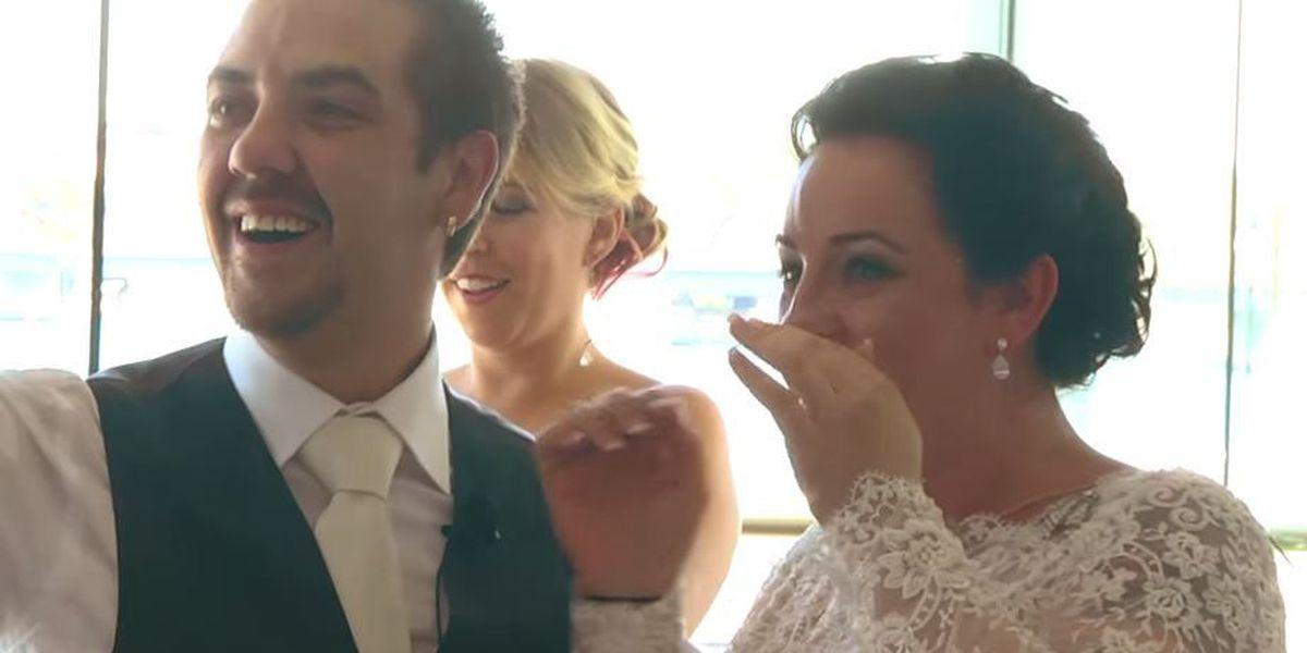 VIDEO: Ed Sheeran surprises deserving wedding couple