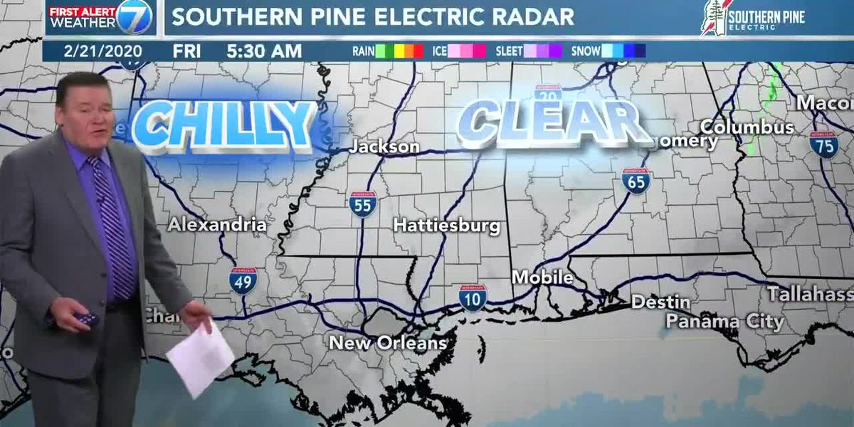First Alert: Rain clears out as weekend arrives