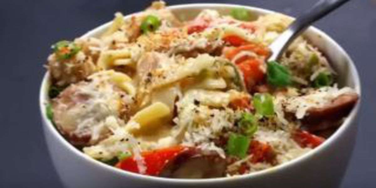 VIDEO: Learn how to make One Pot Cajun Pasta in one minute
