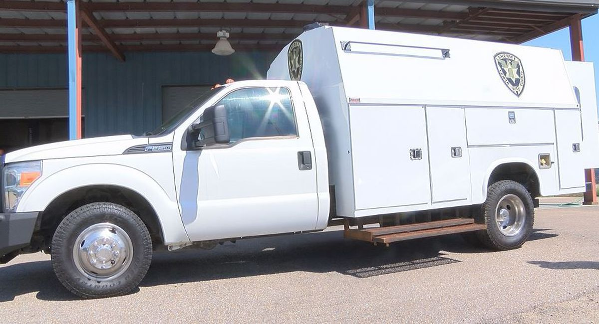Lamar County Sheriff's Dept. receives SWAT truck