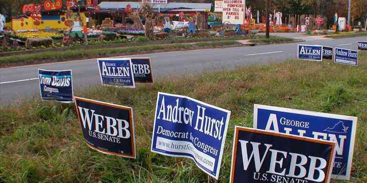 MDOT: Political signs are illegal in rights-of-way