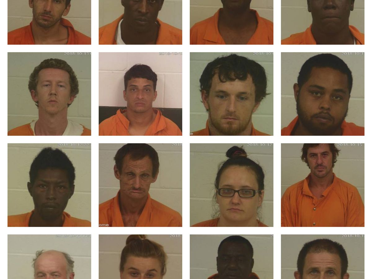 "Operation ""Dealers Choice"" nets 16 arrests in Marion Co."