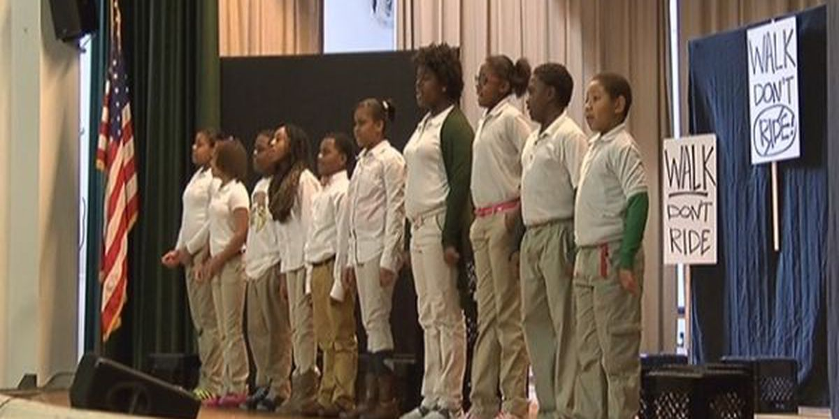 Civil Rights Movement Play held at Hawkins Elementary