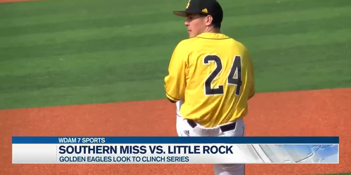 Golden Eagles grab series from Little Rock with 4-1 win
