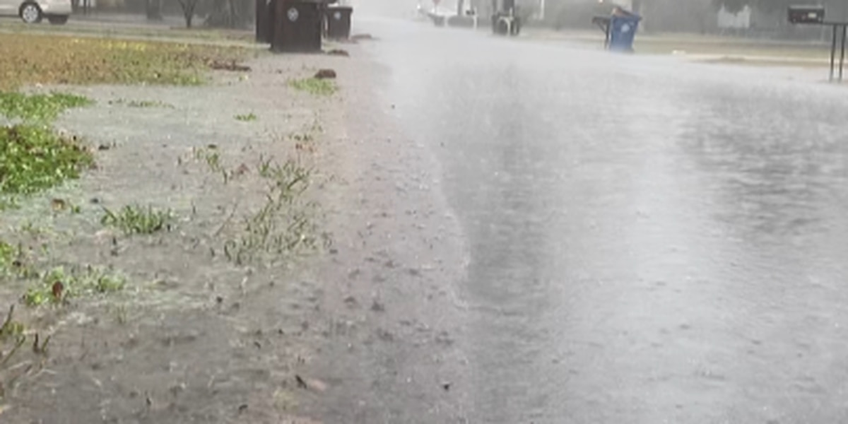 Hattiesburg residents experience ponding after heavy rain