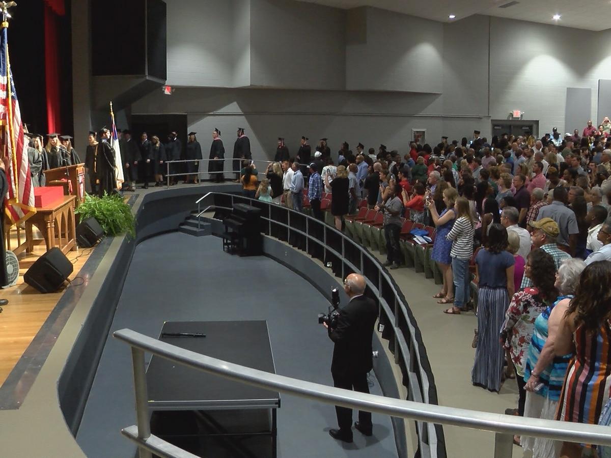 William Carey hosts August Commencement ceremonies on Hattiesburg campus
