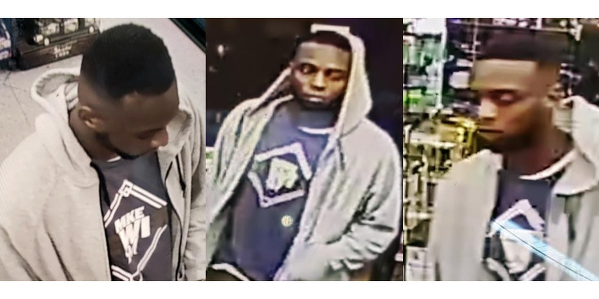 HPD searching for person of interest in grand larceny auto case