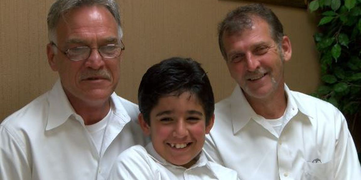 Gay Pine Belt couple legally adopts son
