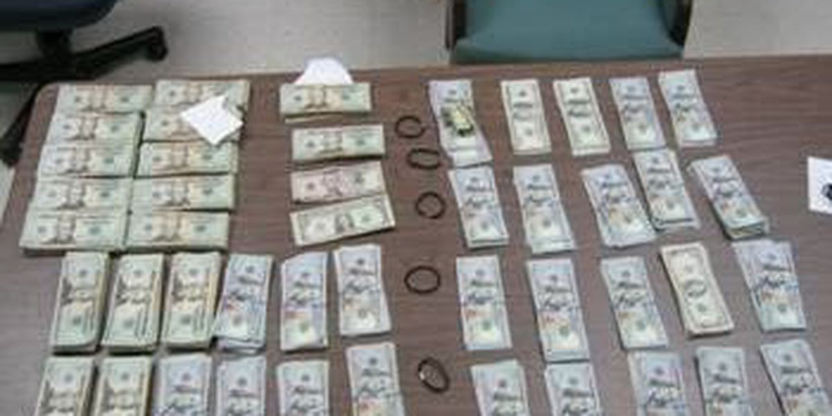 Collins Police make sizeable money seizure