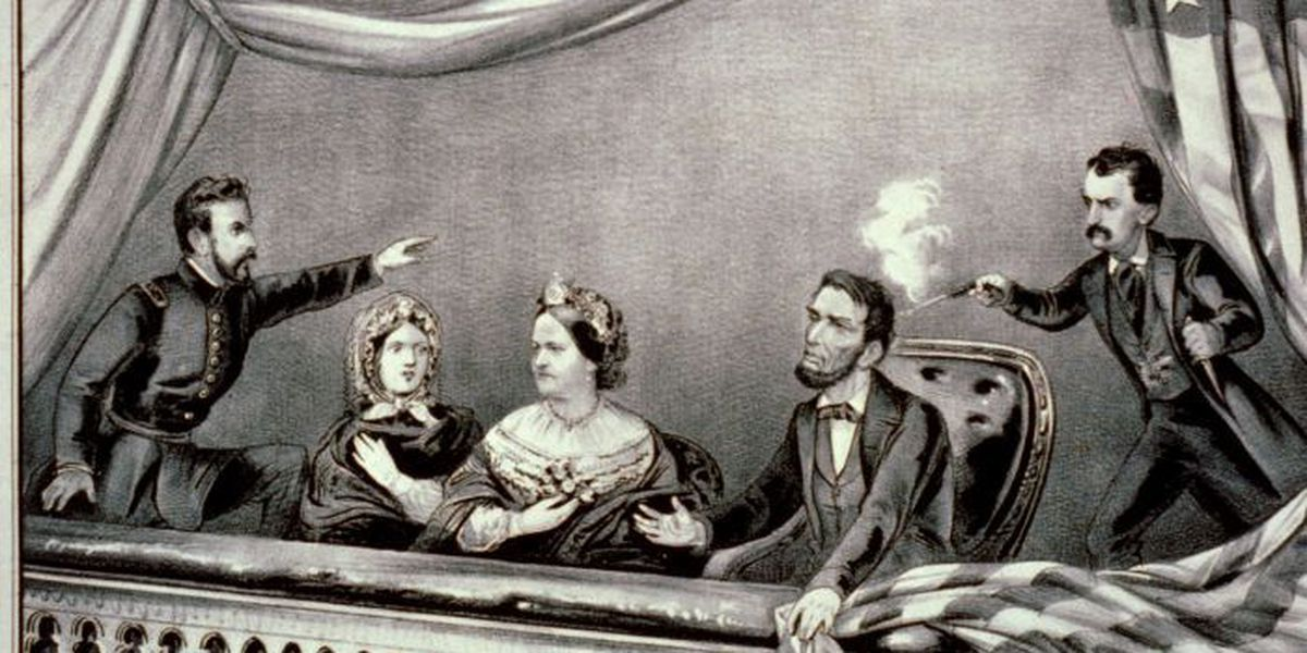 On this day in history - April 14th, 1865