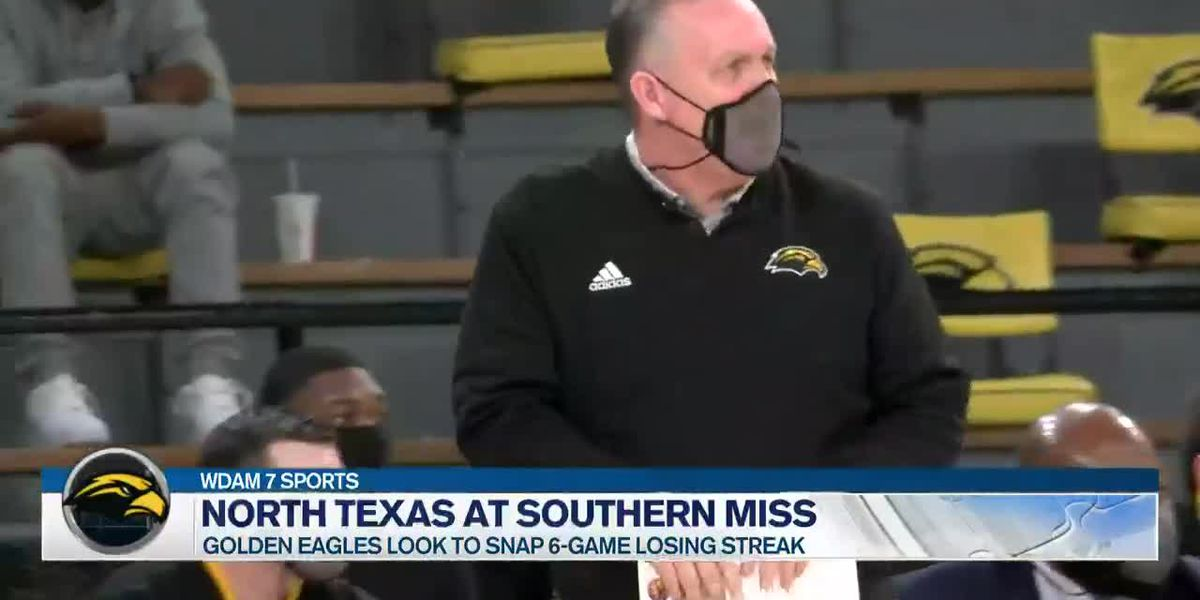 USM drops 7th consecutive game, falls to Mean Green, 65-49