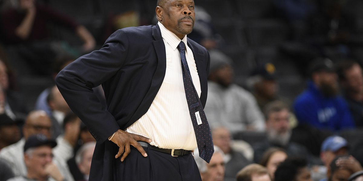 Basketball great Patrick Ewing tests for COVID-19