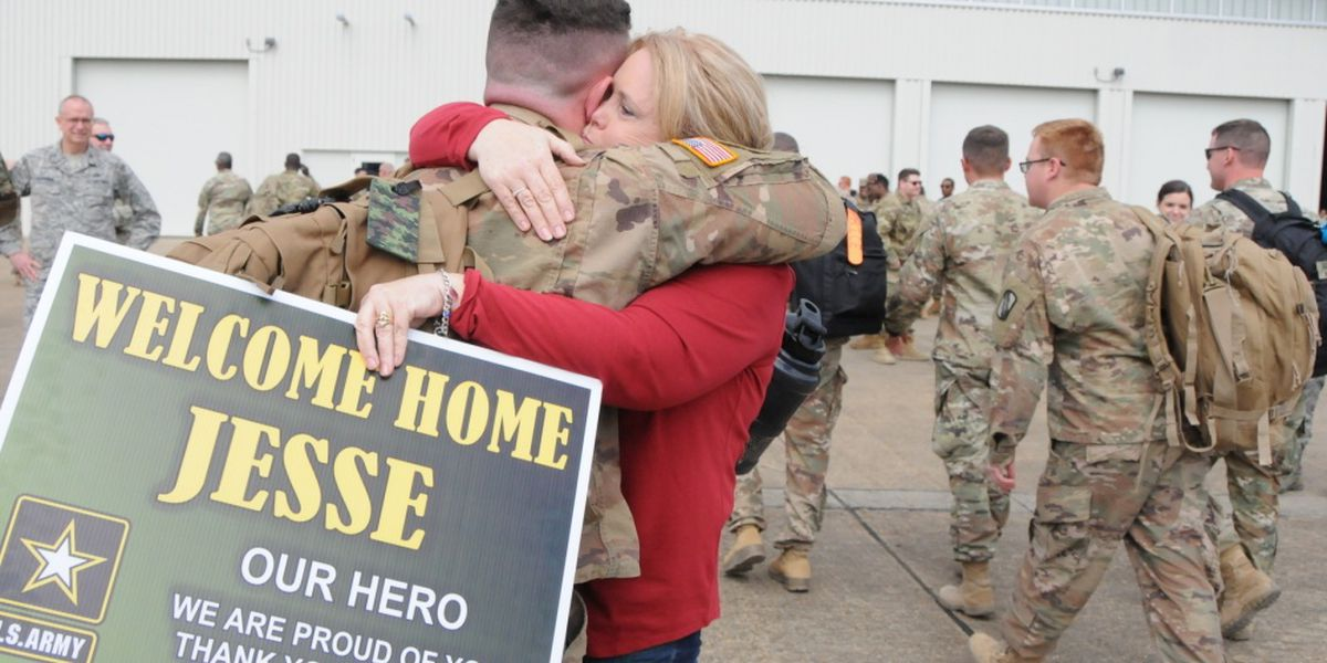 Mississippi National Guard 155th ABCT returns home
