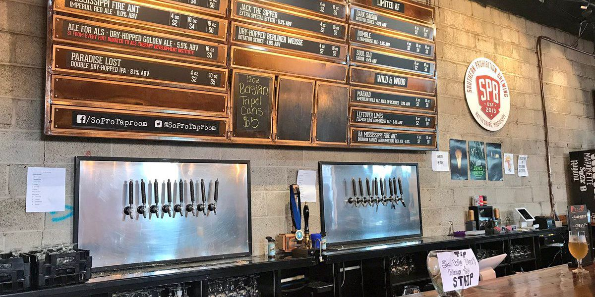 Hattiesburg brewery seeing more business with new state bill