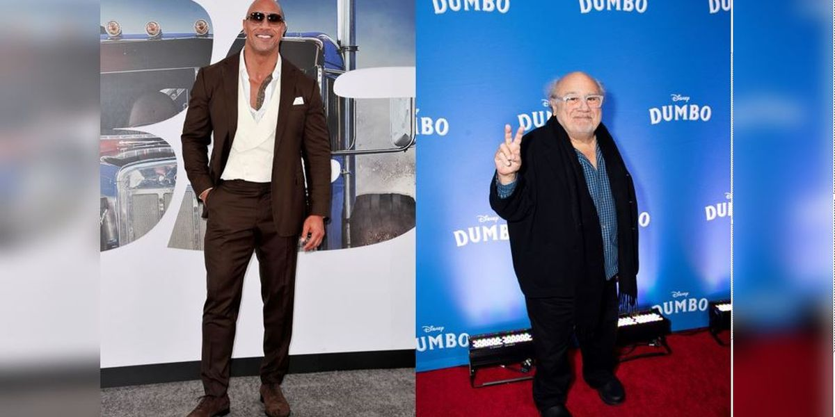 Dwayne The Rock Johnson And Danny Devito Crash Wedding