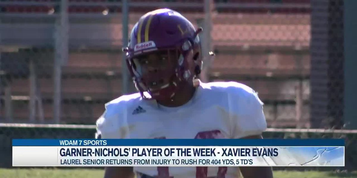 Player of the Week - Xavier Evans carries Laurel to come-from-behind win