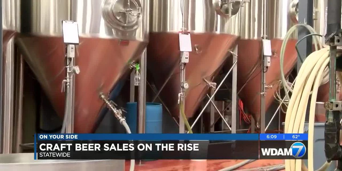 Craft beer sales on the rise statewide