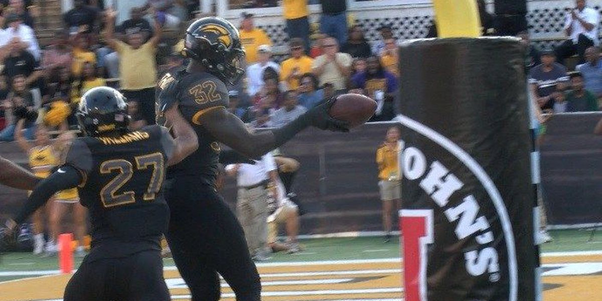 USM defense scores two touchdowns in Southern win