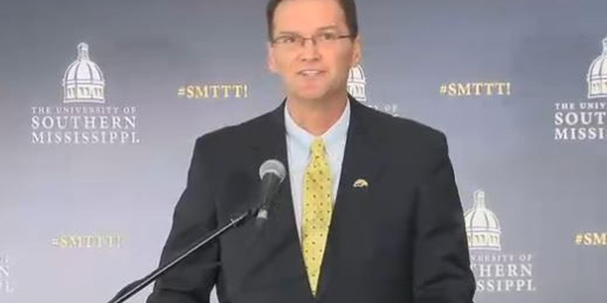 Gilbert announced as USM's new athletic director