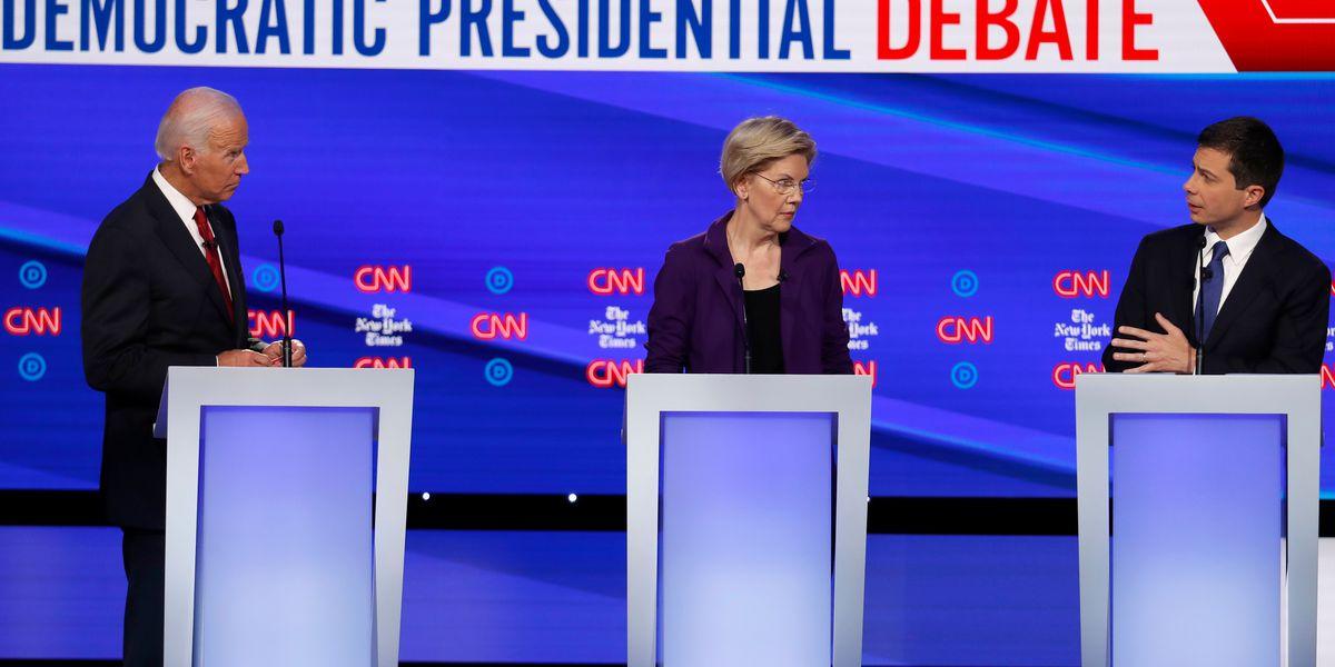 10 Democrats qualify for next week's presidential debate