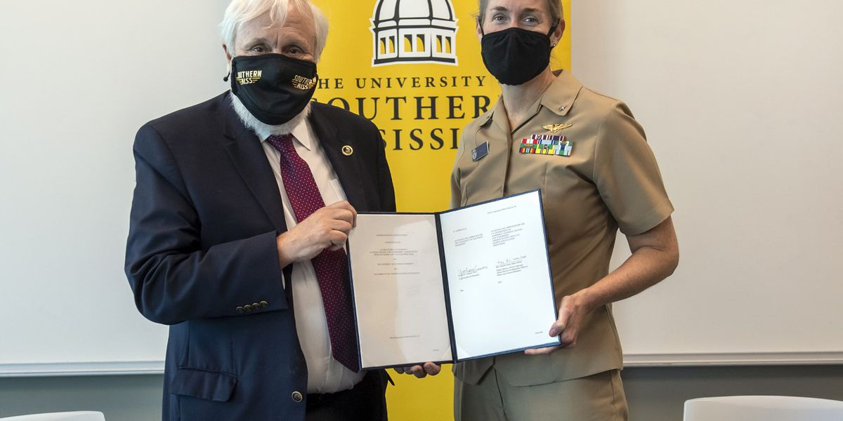 NOAA partners with USM on uncrewed systems