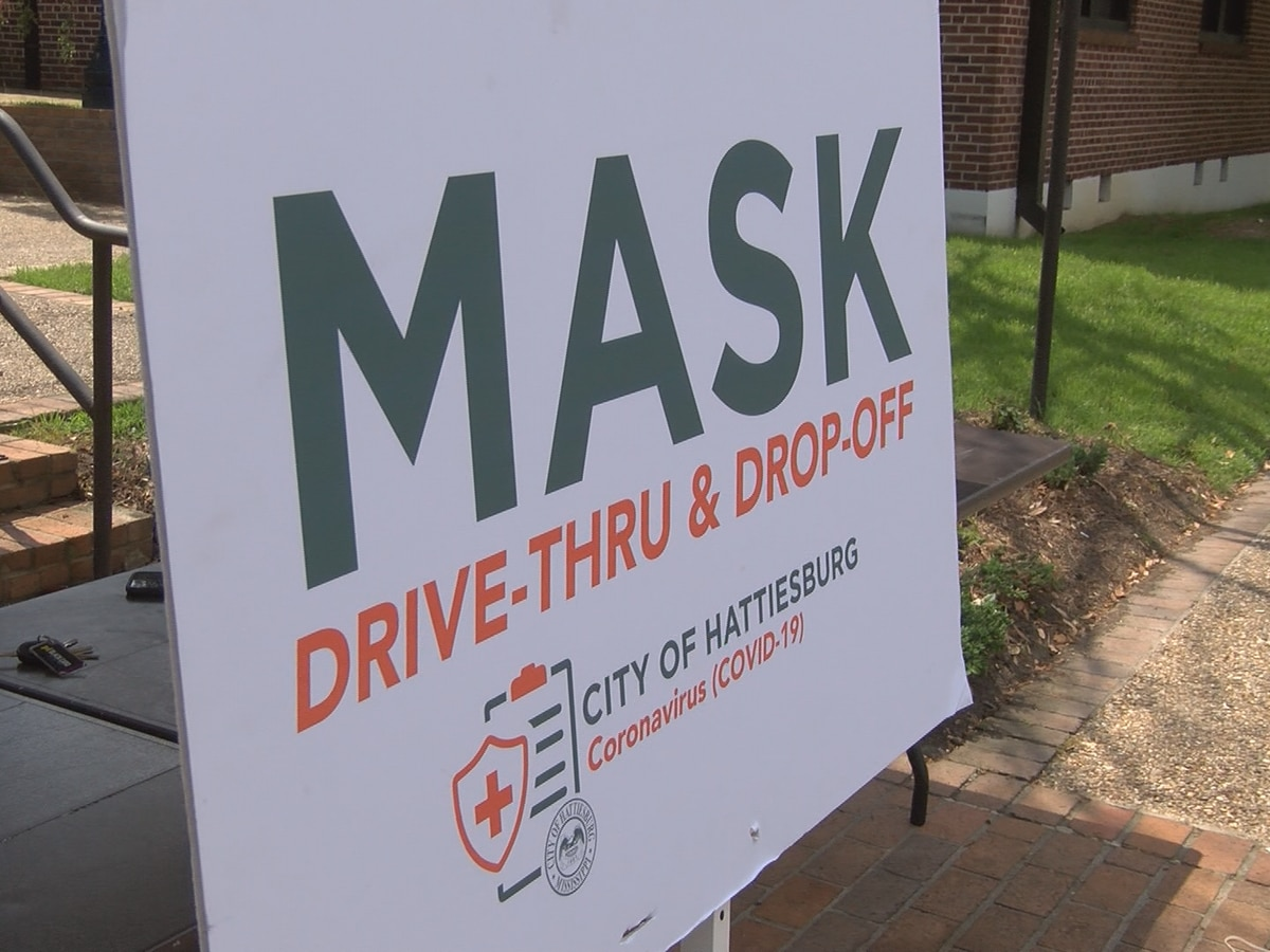 Hattiesburg gets 1,200 mask donations in drive-thru, drop-off event