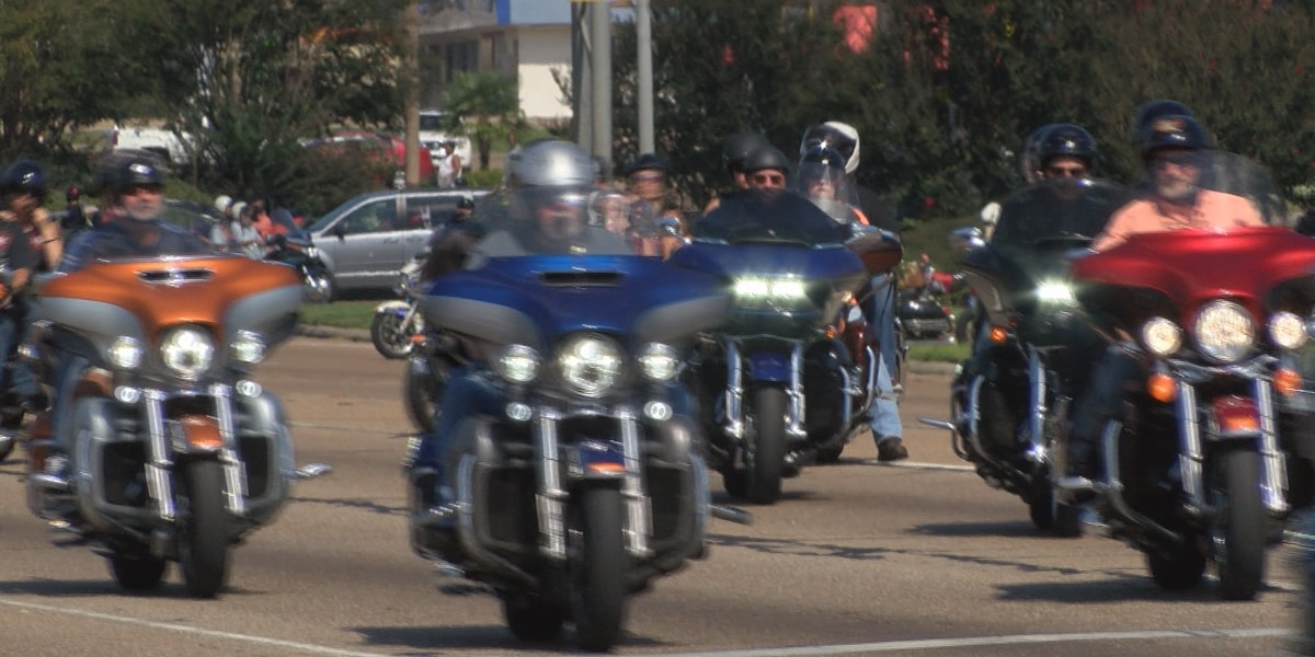 Governor leads 5th Wounded Warrior Ride through Hattiesburg