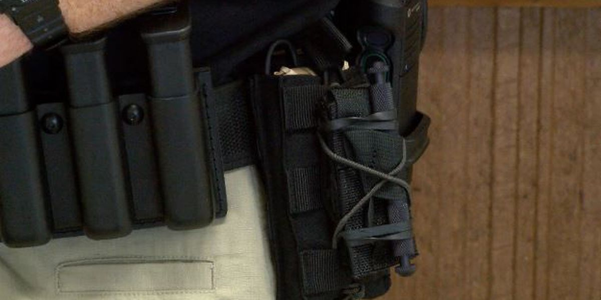 Laurel businesses donate trauma kits to police department