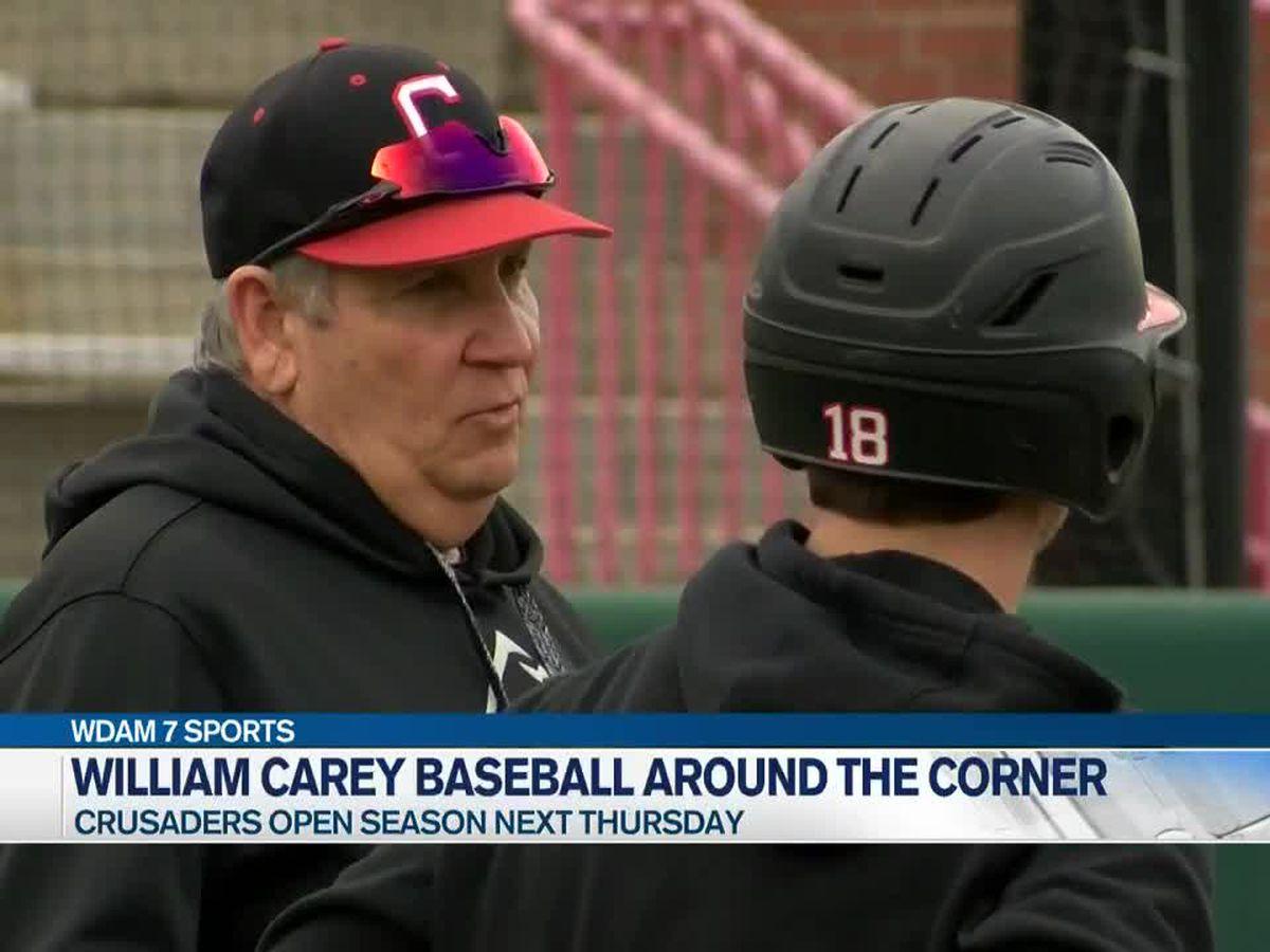 William Carey baseball eyes Thursday's season-opener