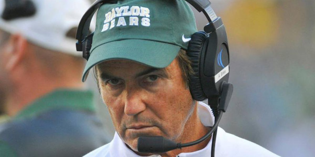 Disgraced Baylor coach Art Briles is almost back