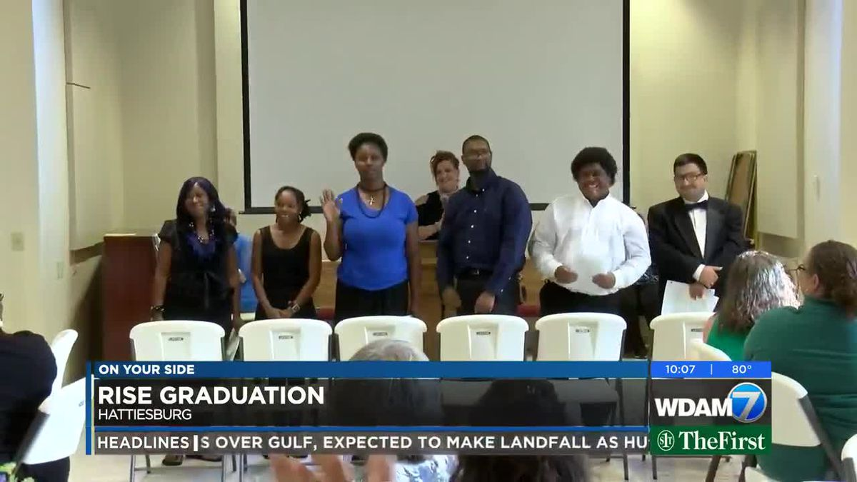 6 graduate from RISE Program in Hattiesburg