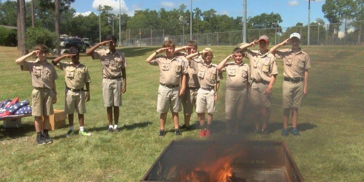 Hattiesburg Boy Scouts memorialize 9/11 victims