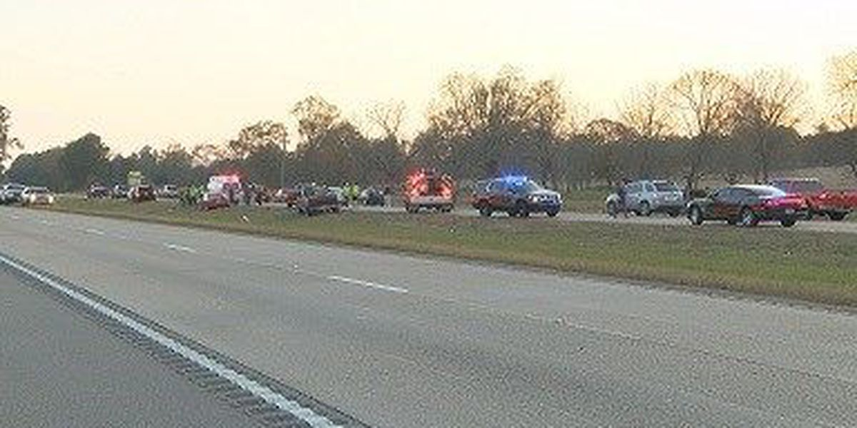 Mattress in road causes four-car accident in Forrest County