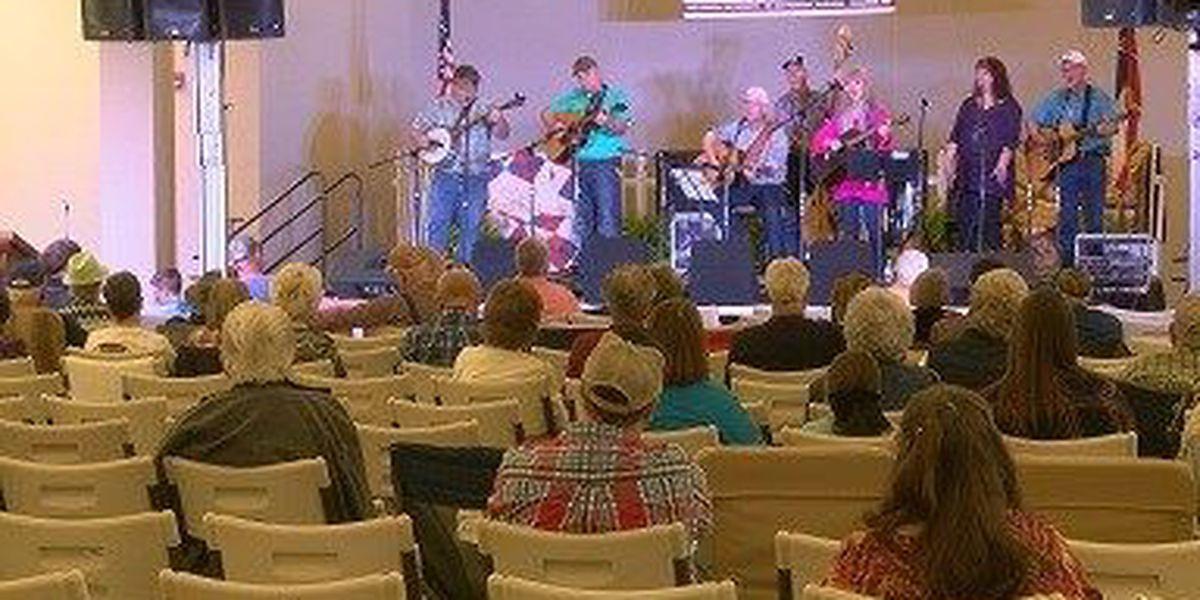 Annual Purvis bluegrass festival featured one dozen artists