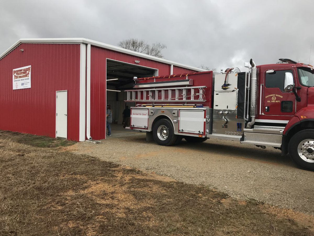 New Southwest Marion fire station to open Saturday