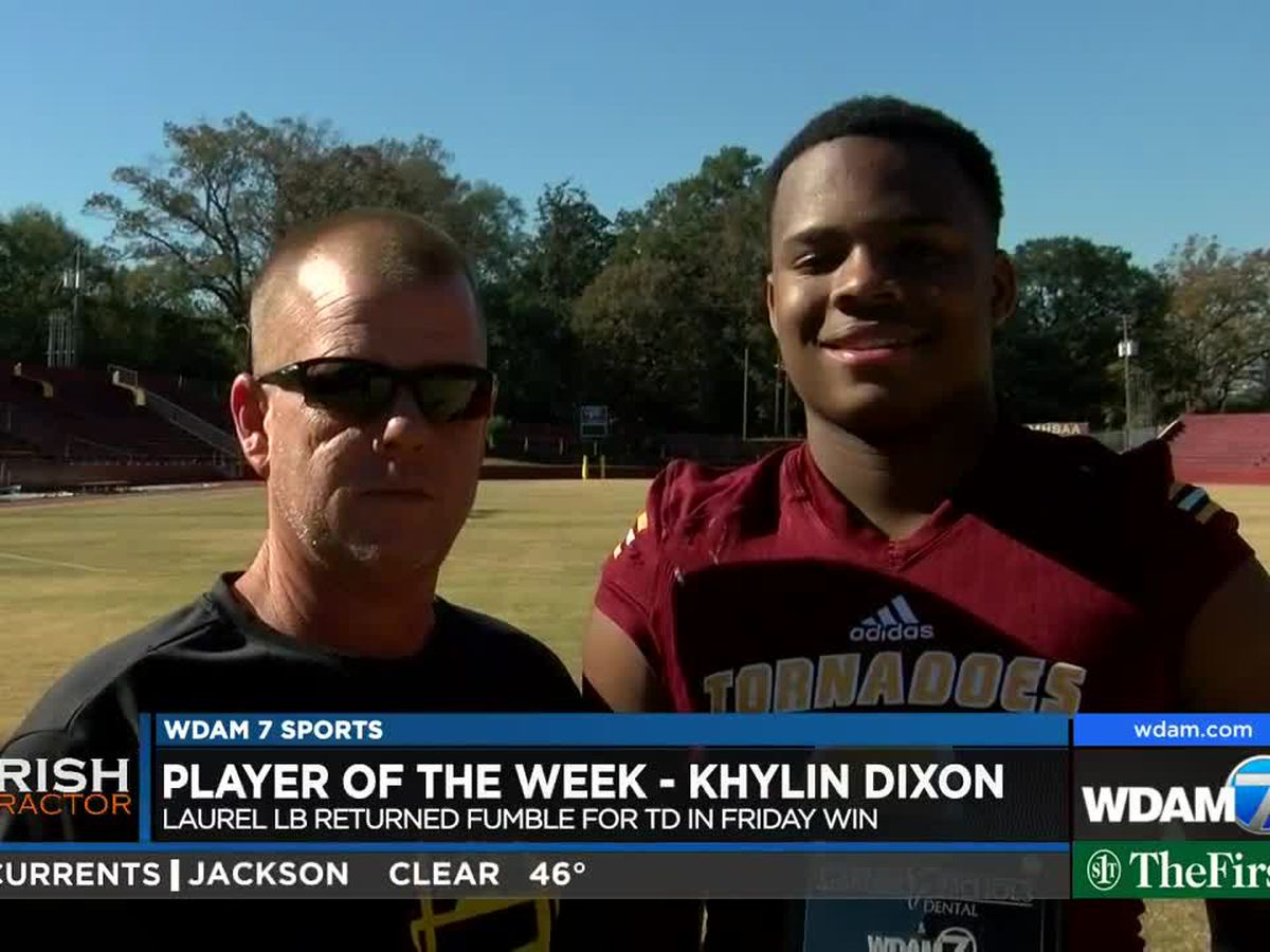 Player of the Week - Laurel linebacker Khylin Dixon