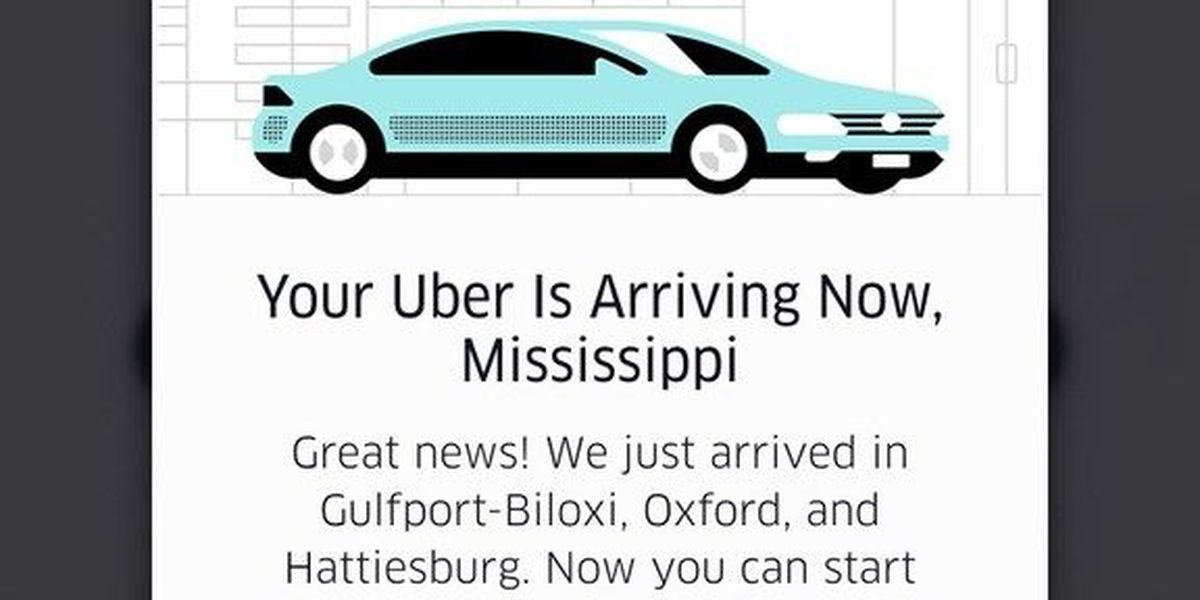 Uber begins operations in Hattiesburg