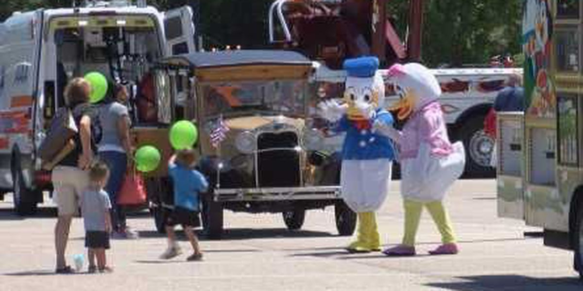 'Touch a Truck' event held in Petal